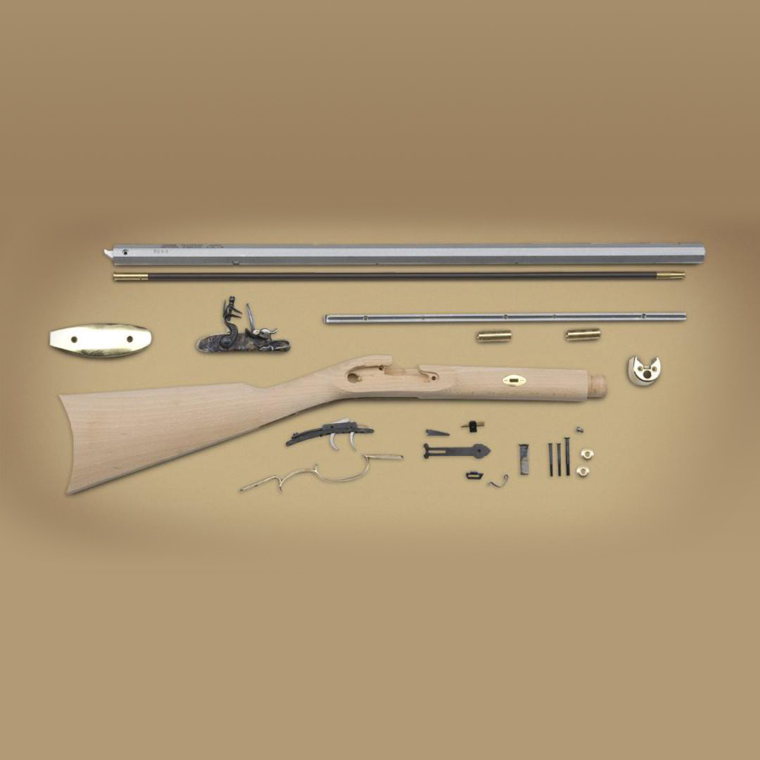 Traditions Frontier Flintlock Rifle  50 Cal Kit
